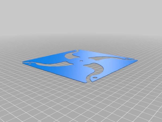 3D打印风车