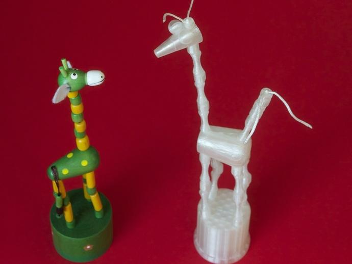 木偶模型 3D打印模型渲染图
