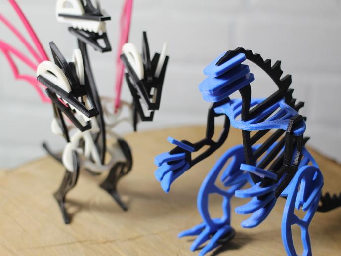 哥拉斯 3D打印模型渲染图