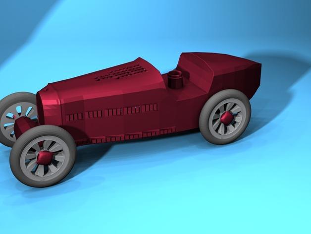 布加迪风格汽车