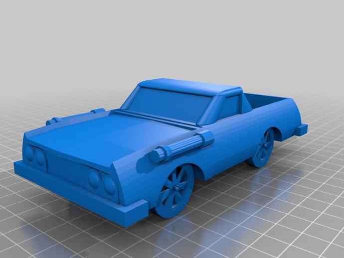 可定制化玩具车