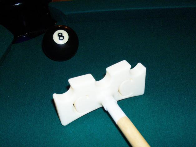 台球桌桥 3D打印模型渲染图