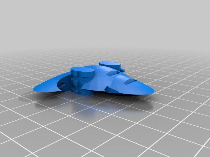 游戏《Ill Gotten Games》中战舰模型