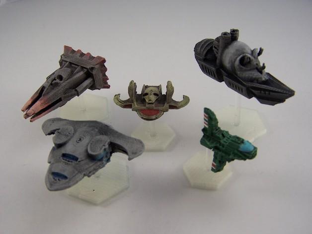 游戏《Ill Gotten Games》中战舰模型 3D打印模型渲染图