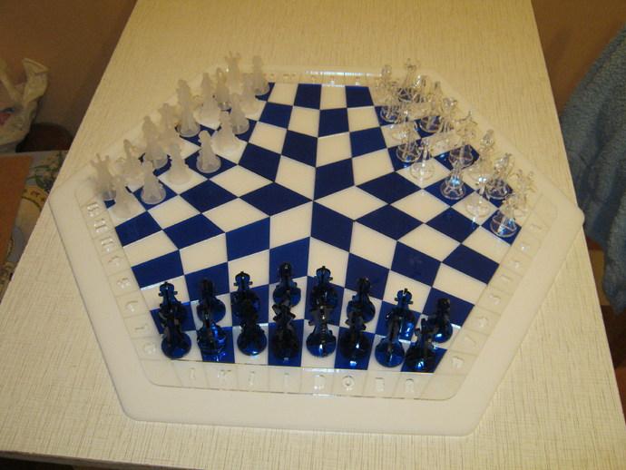 三人国际象棋