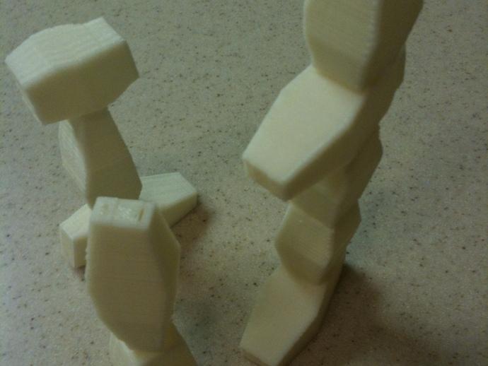 方块游戏模型 3D打印模型渲染图