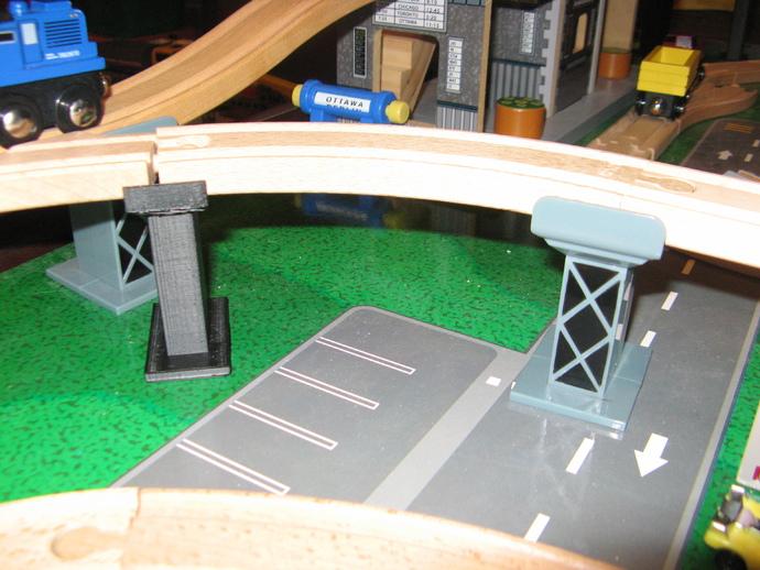 木质火车轨道
