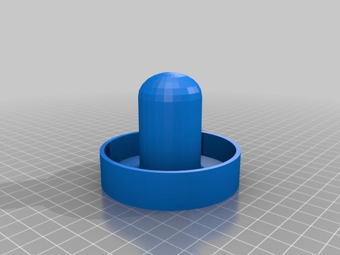 空气曲棍球零部件 3D打印模型渲染图