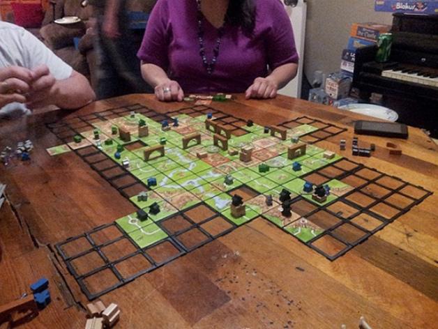 游戏《Carcassonne》模型