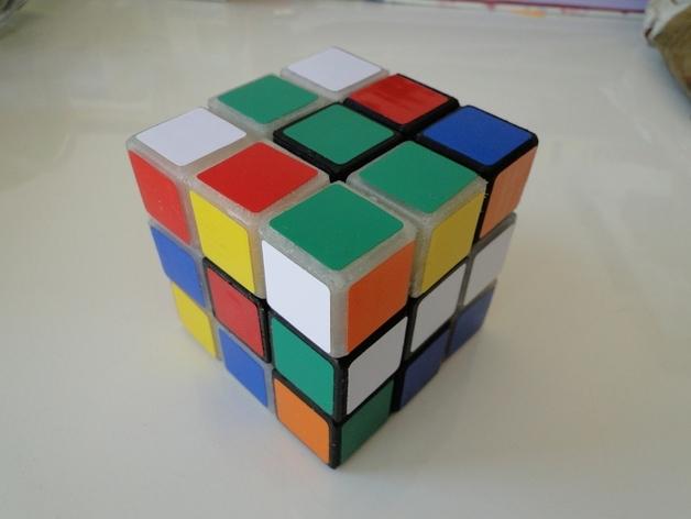 Rubik立方体 3D打印模型渲染图