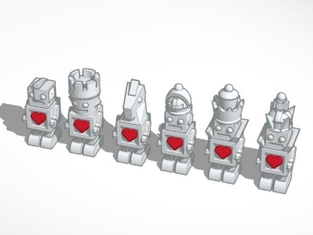 机器人形象棋