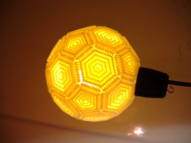 巴基球形灯泡