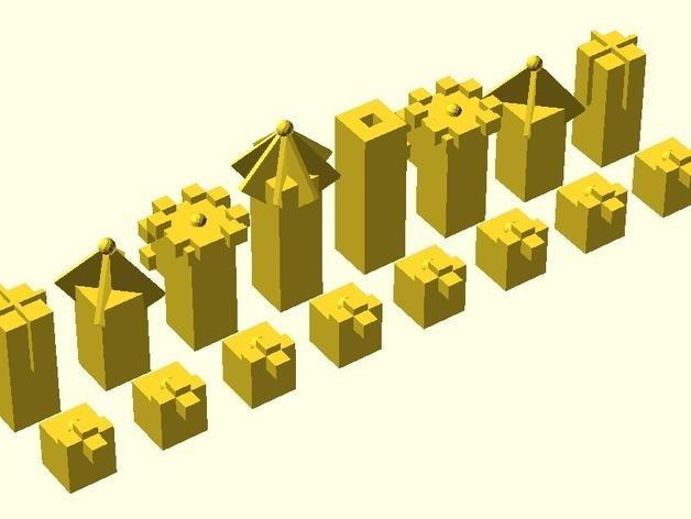 Laird象棋 3D打印模型渲染图