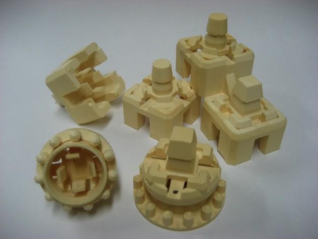 模块化方块