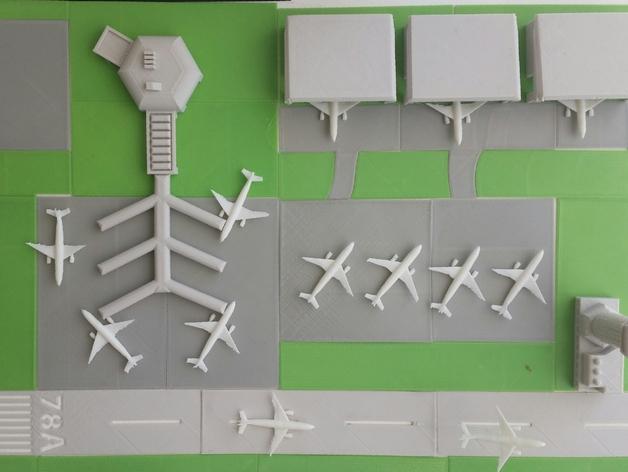 迷你飞机场