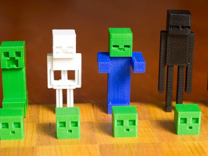 《Minecraft》系列象棋