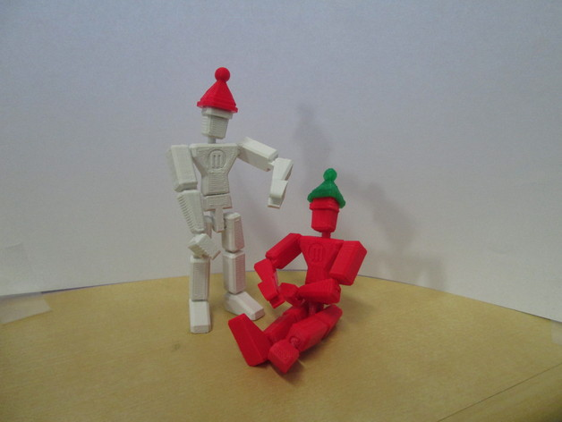 MakerBot玩偶 3D打印模型渲染图