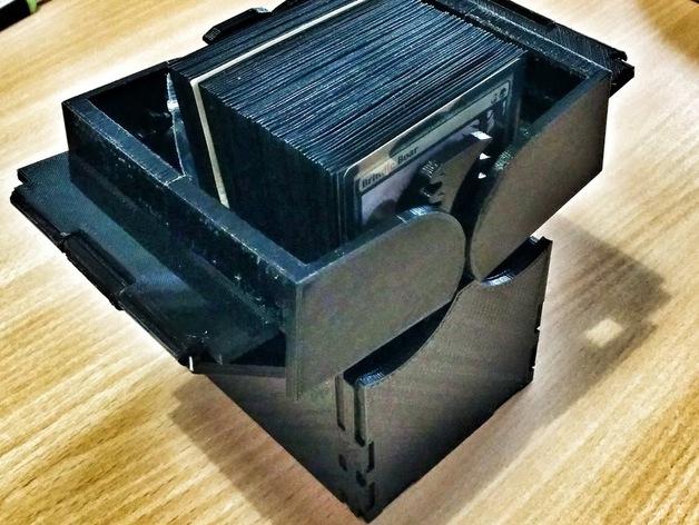 CCG卡盒 3D打印模型渲染图