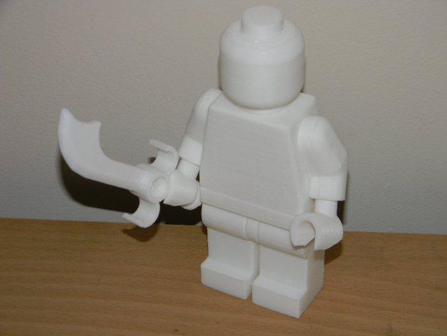 乐高玩具skimbal 3D打印模型渲染图