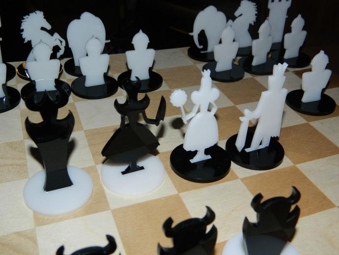 经典黑白象棋
