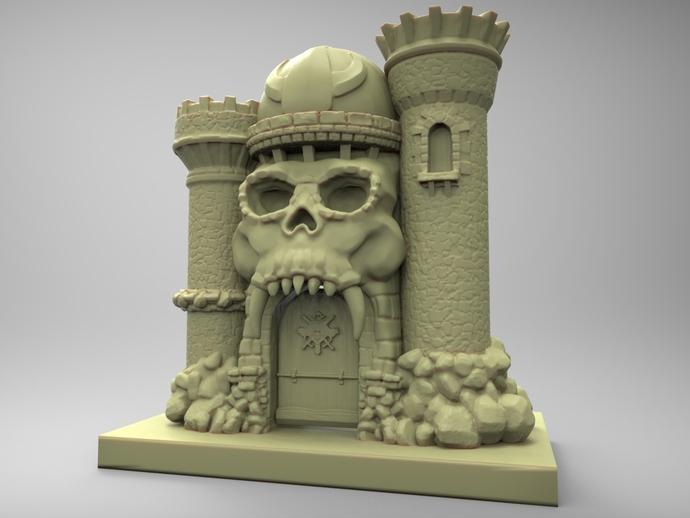 骷髅头城堡