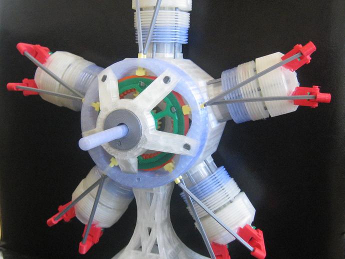 五星形发动机