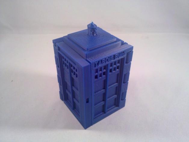 塔迪斯 3D打印模型渲染图
