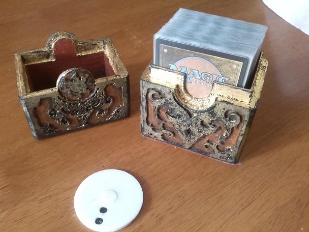 卡片盒 3D打印模型渲染图