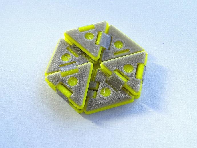 六边形折纸