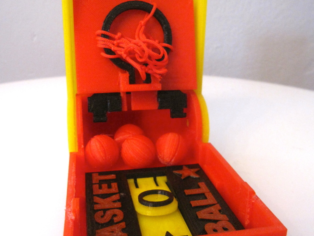 口袋篮球 3D打印模型渲染图