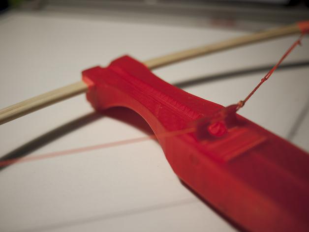 十字弓 3D打印模型渲染图