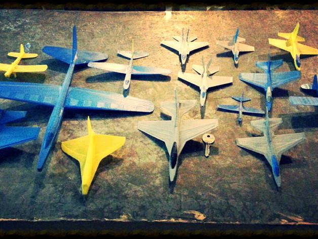 塑料滑翔机