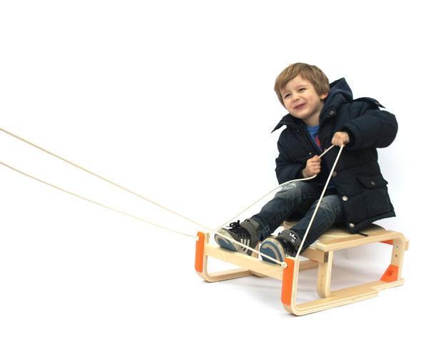 DIY雪橇