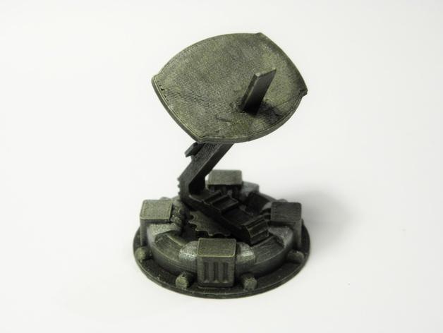 战争游戏标志杆