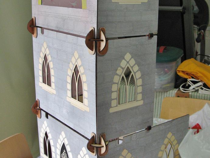 玩具城堡 3D打印模型渲染图