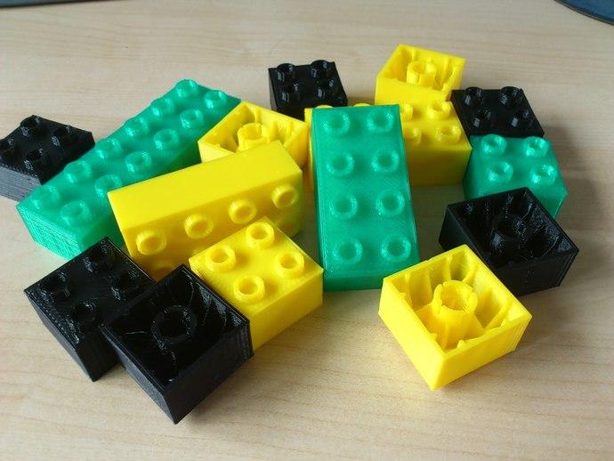 得宝方块 3D打印模型渲染图