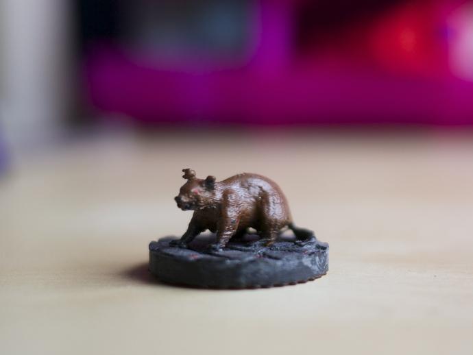 凶暴鼠 3D打印模型渲染图