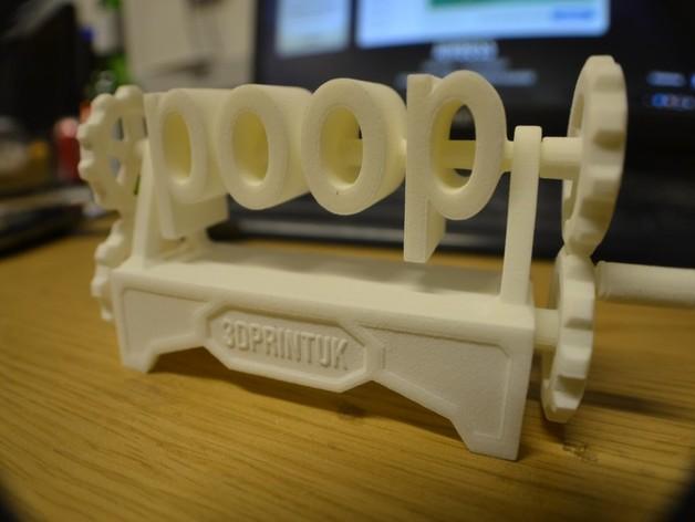 boob poop上下对称装置 3D打印模型渲染图