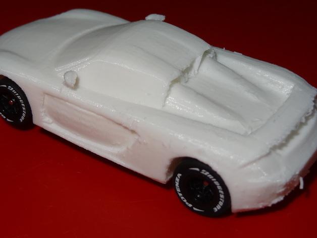 HO槽轨车 - 保时捷Carrera GT