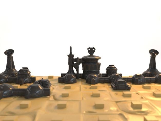 火星基地象棋