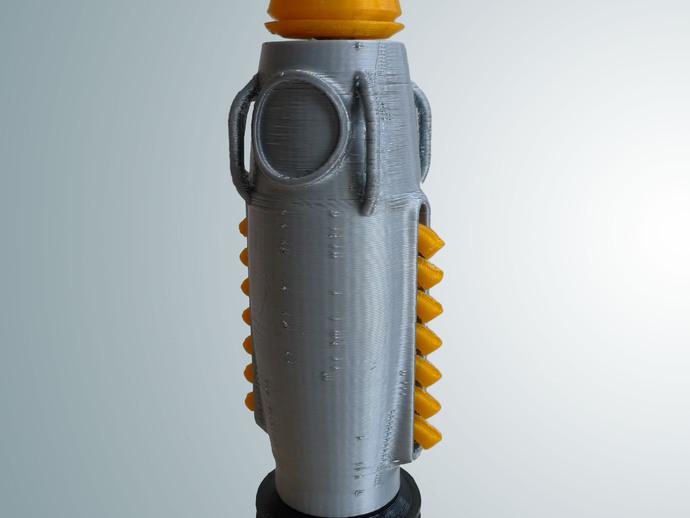 制动火箭船