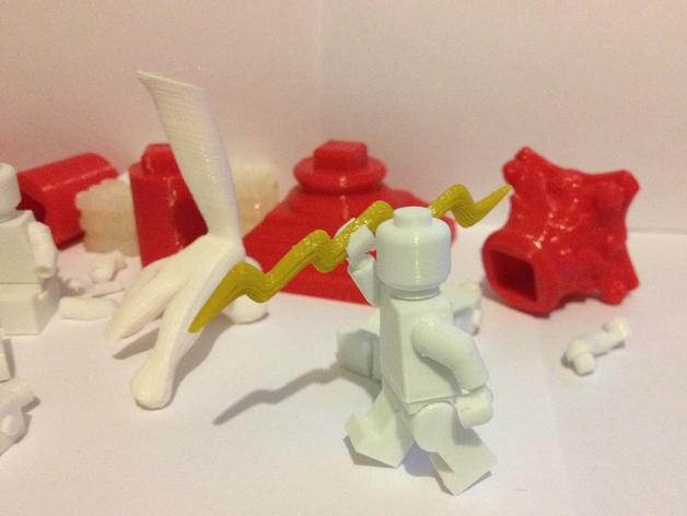 Replicator2 人形玩偶 3D打印模型渲染图