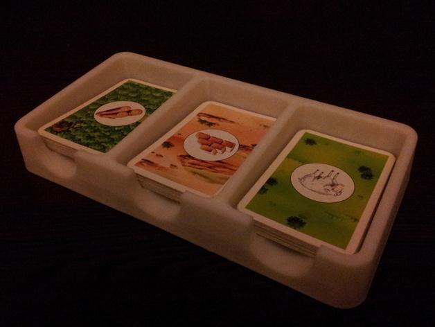 卡坦岛游戏卡盒 3D打印模型渲染图