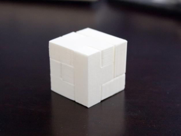 半小时魔方 3D打印模型渲染图