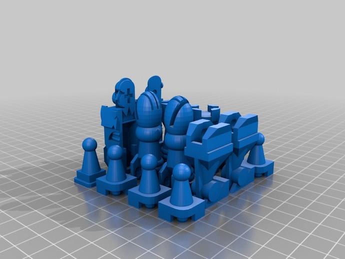 国际象棋机器人玩偶