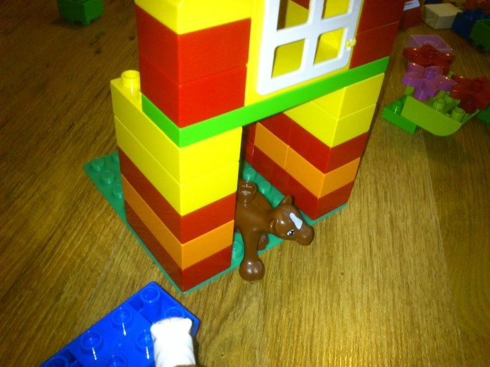 得宝玩具建筑底板 3D打印模型渲染图