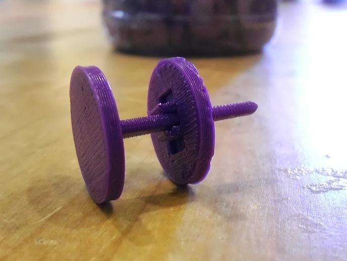 压配合销玩具 3D打印模型渲染图