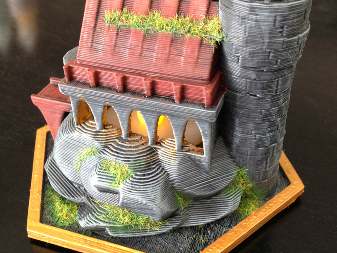 迷你魔法城堡