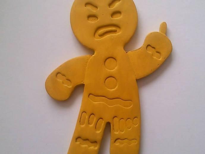 姜饼人饼干切割刀