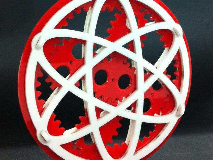 椭圆行星齿轮